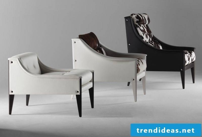 Modern leather armchair!
