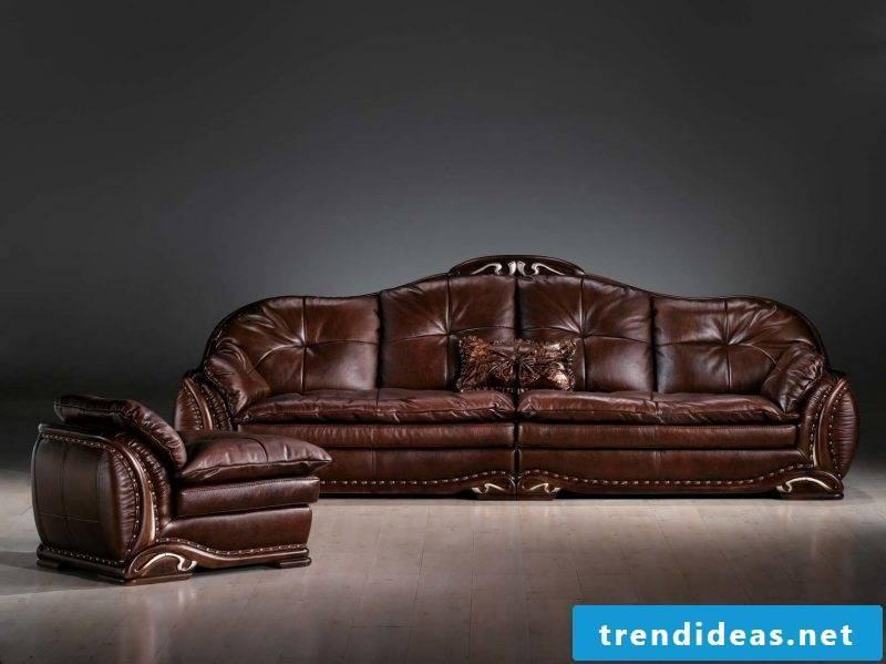 Stylish leather furniture!