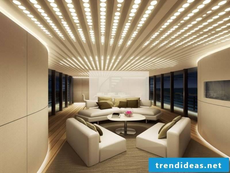 Led indirect lighting gently