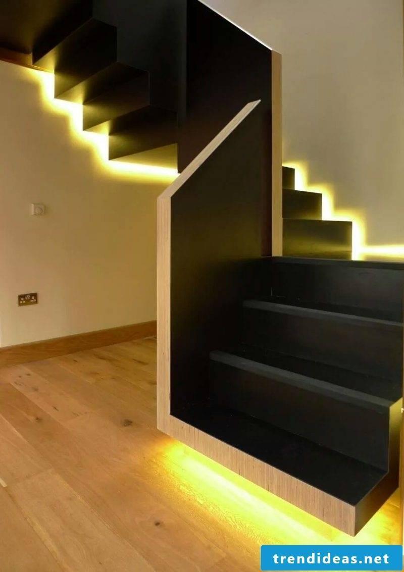LED staircase lighting design