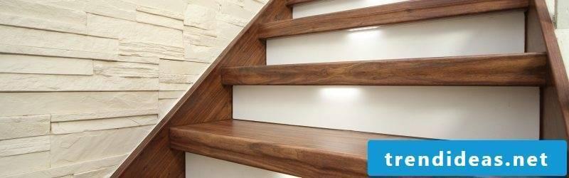 LED staircase discreet
