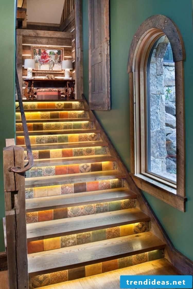led stair lighting cozy