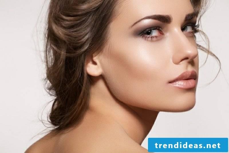 Light Brown Hair Color Nuance Nougat Makeup Tips