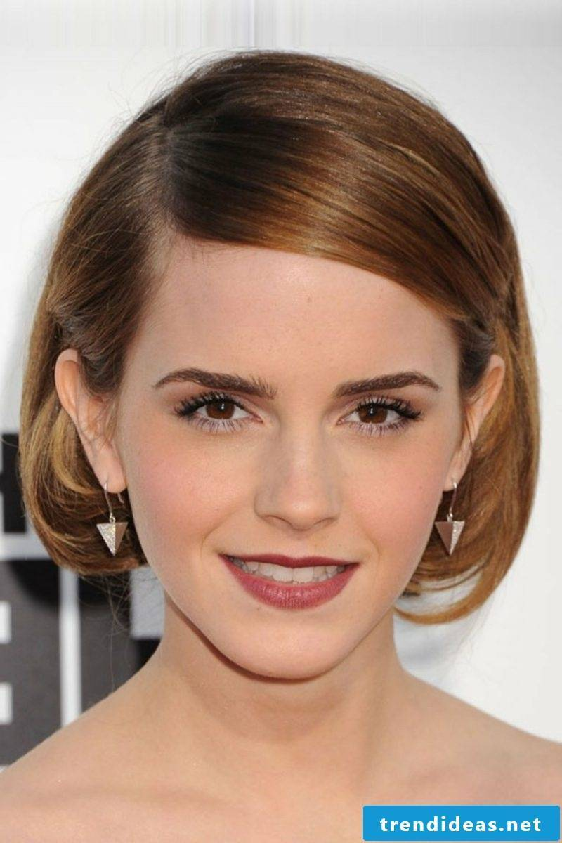 Light Brown Hair Color Bob Hairstyle Emma Watson