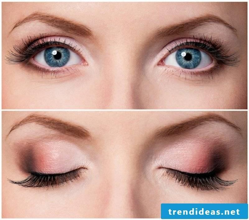 Light Brown Hair Color Makeup Tips Eye Shadow