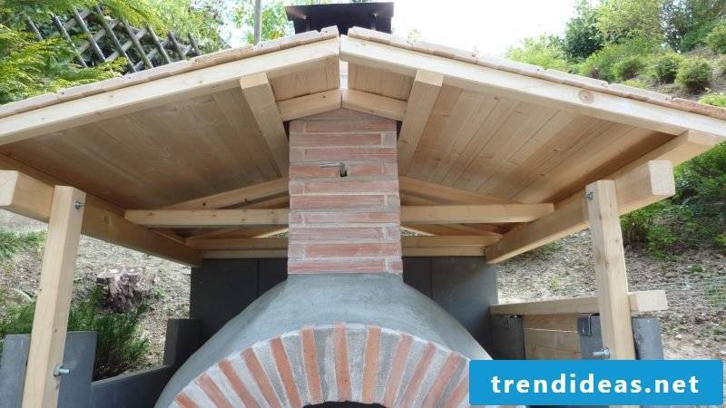 Oven itself make wood