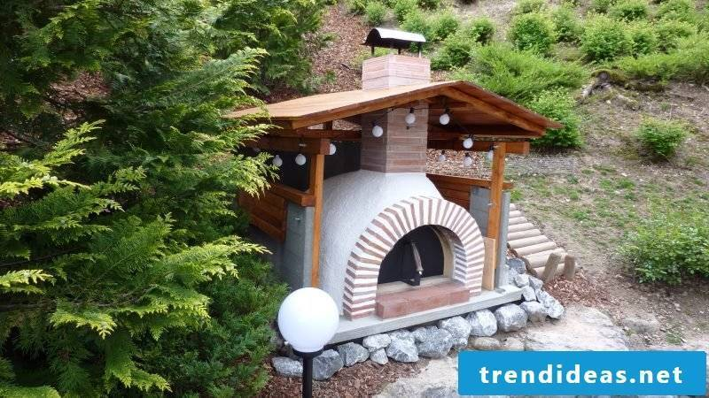 Oven itself make pizza oven