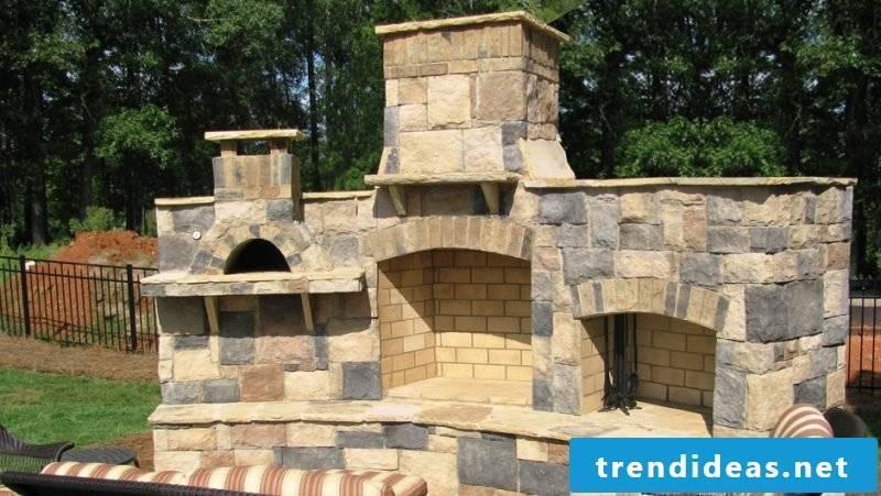 Oven itself make stone
