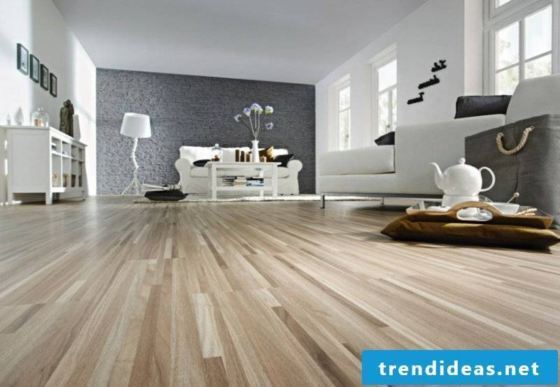 linoleum flooring wood look in living room