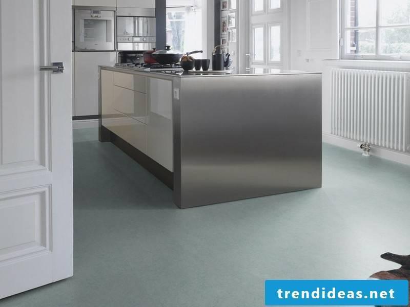 linoleum floor in gray