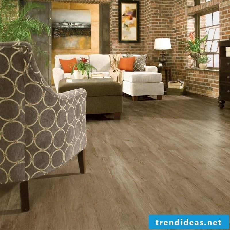 linoleum wood look tendentious