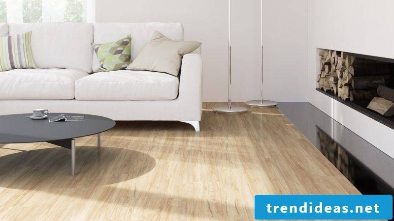 Linoleum wood look realistic