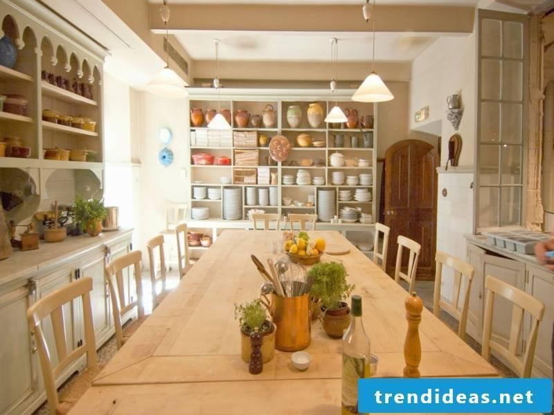 large provence kitchen