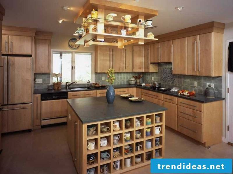 Residential ideas for an open cabinet in provence style
