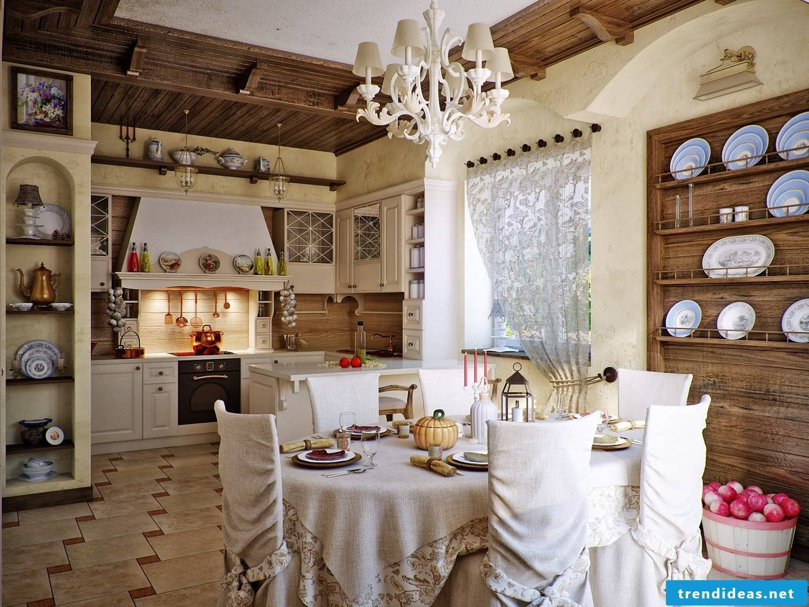 living ideas from france for the kitchen