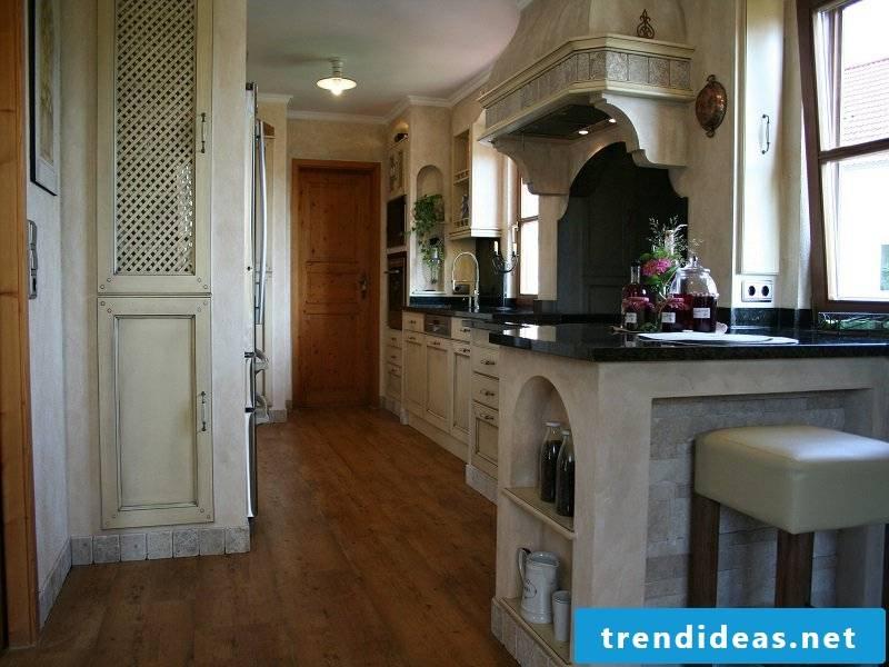 a provance kitchen in white