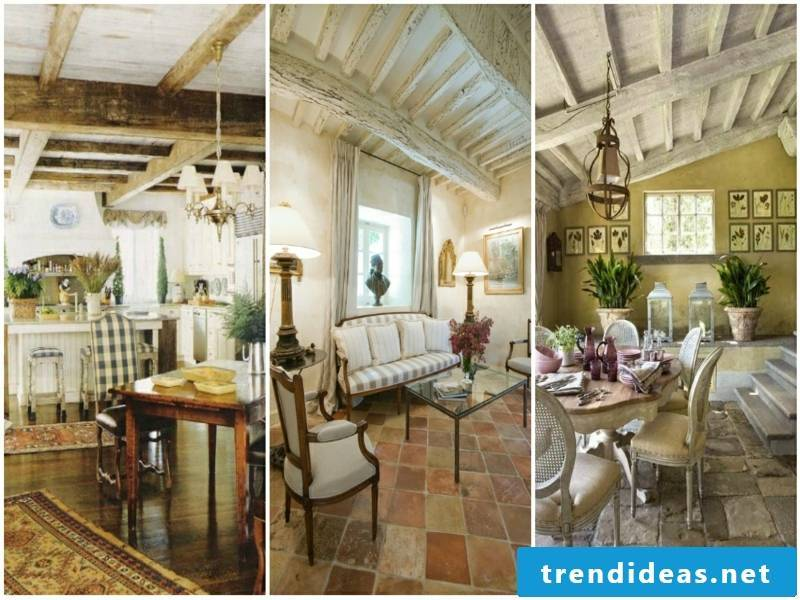 provence kitchen with pastel colors
