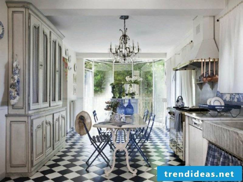 home floor ideas in the provence kitchen