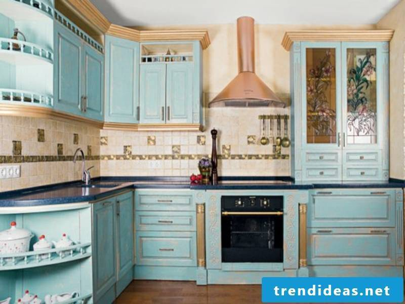 home ideas for golden colors in the provence kitchen