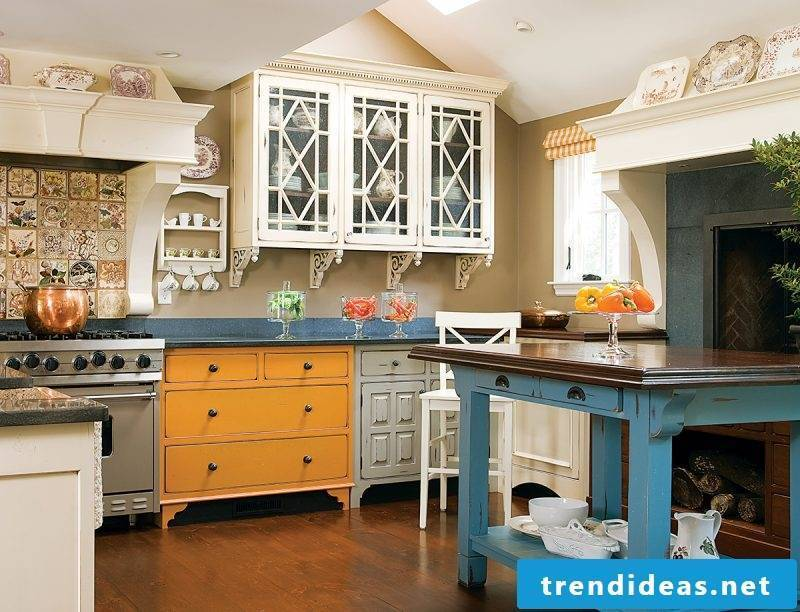 living ideas for the small provence kitchen