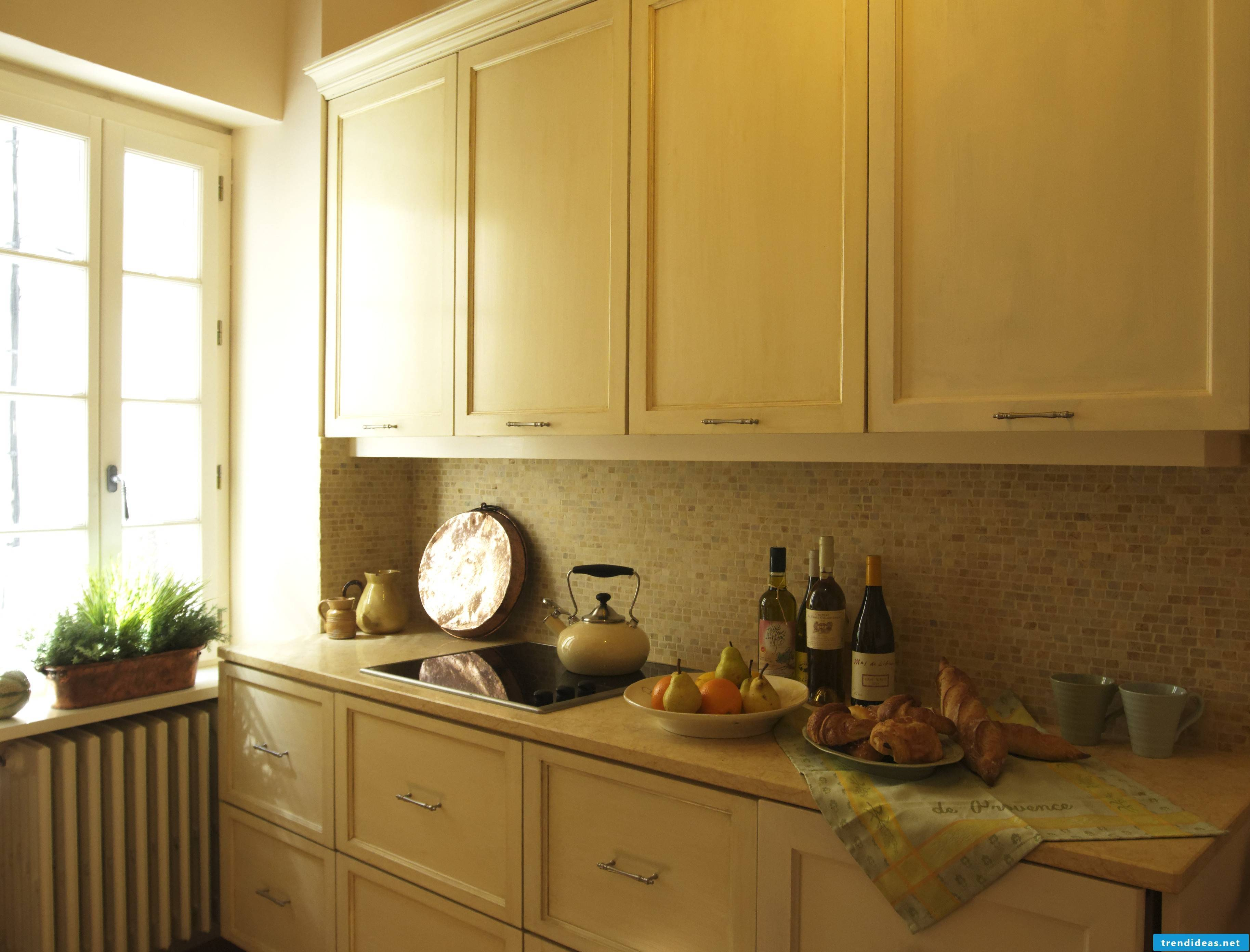 living ideas in yellow for the provence kitchen
