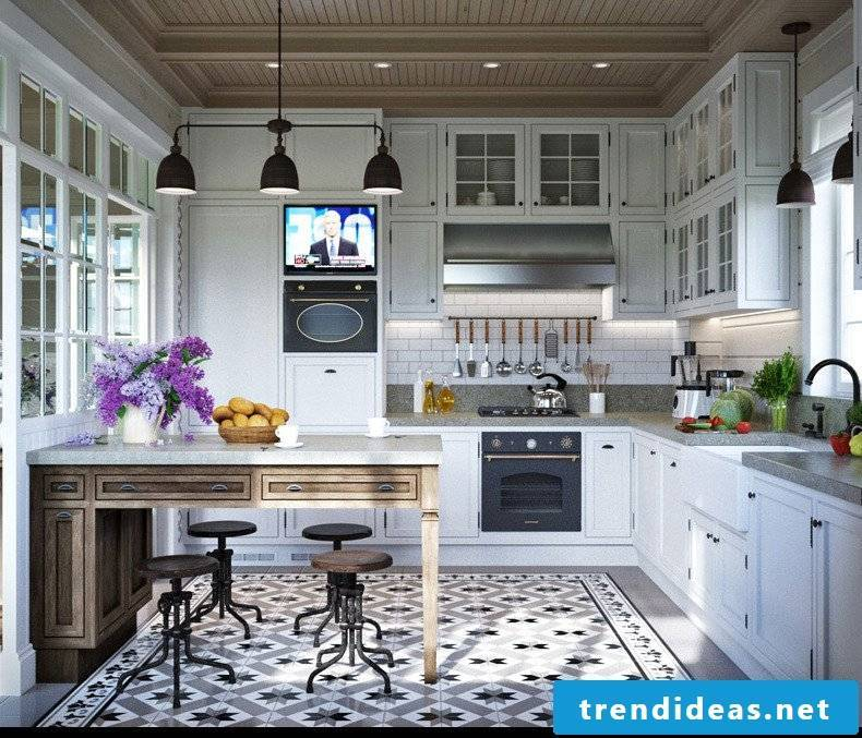 living ideas for modernism in the provence kitchen