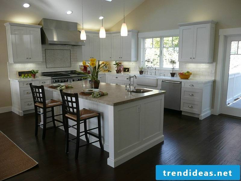 an island in the provence kitchen