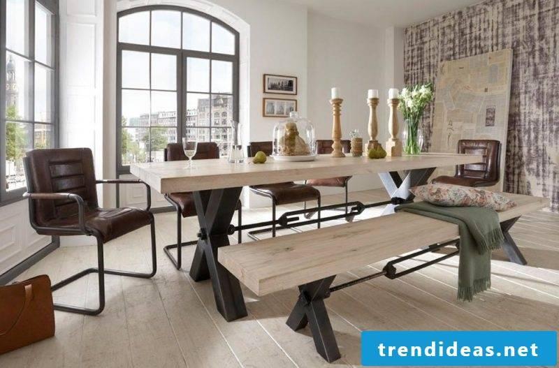 Loft furniture made of wood