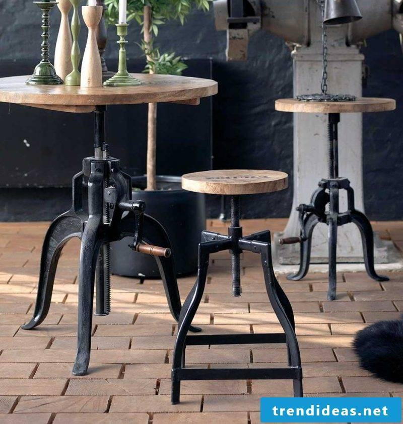 Loft furniture table