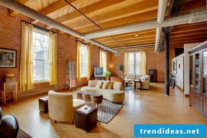 Loft furniture living