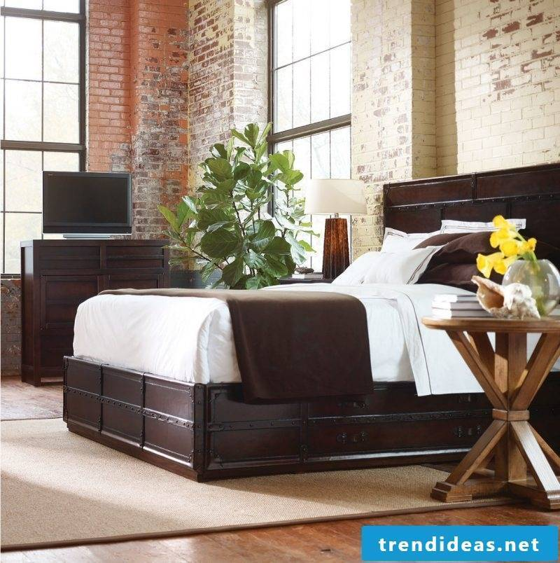 Loft furniture bed design