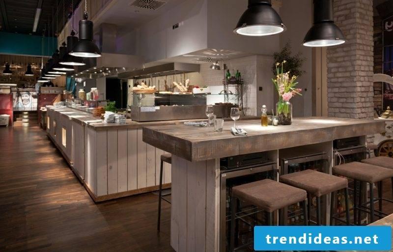 open kitchens furnishing ideas