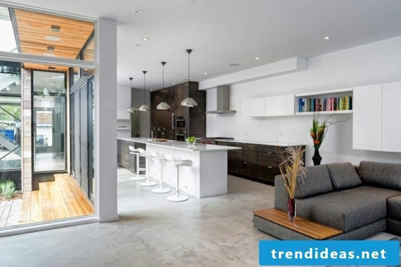Kitchen-living ideas modern minimalist