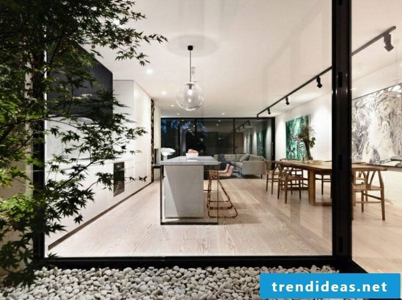 Cooking without stove open kitchen modern look
