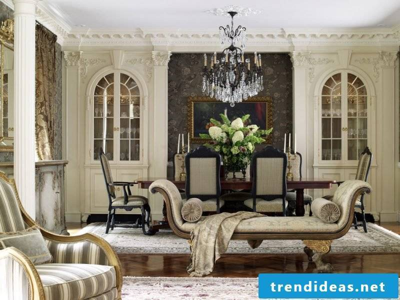 Living room design colonial style colors