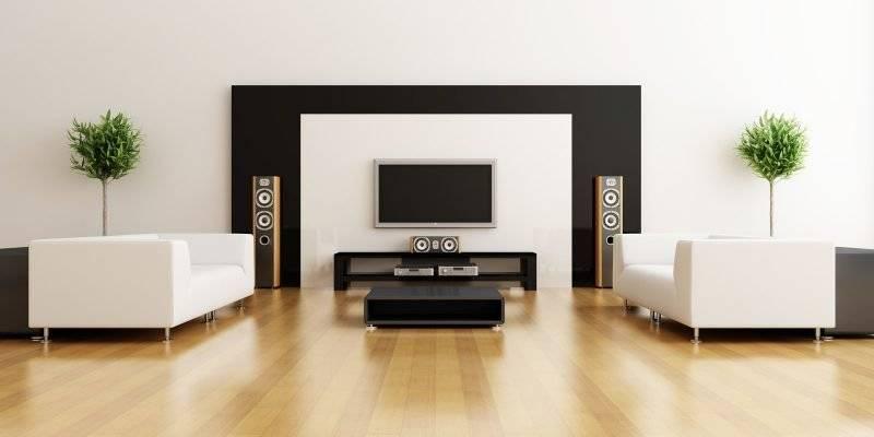 Living room minimalist design