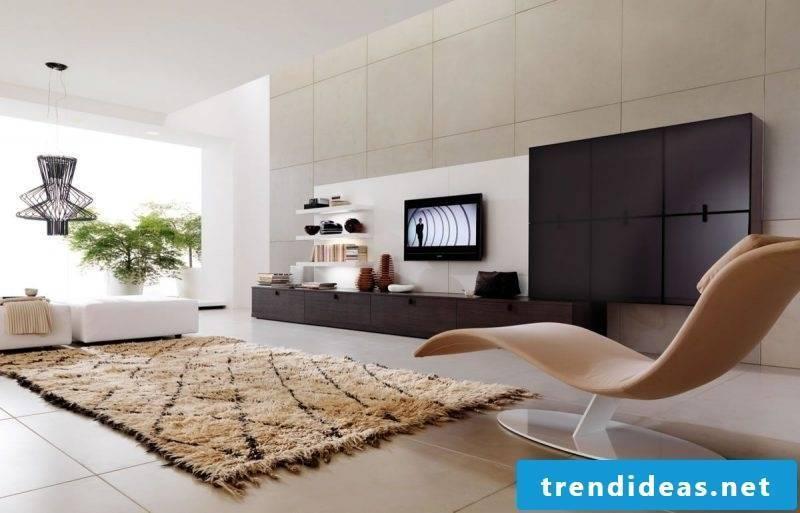 Living room minimalism furnishings