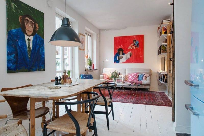 Living room design Scandinavian Deisgn