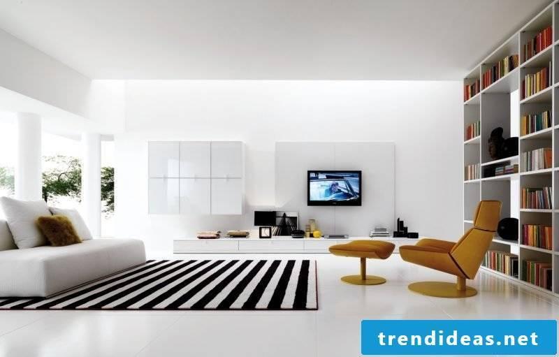 Housing design minimaist furniture