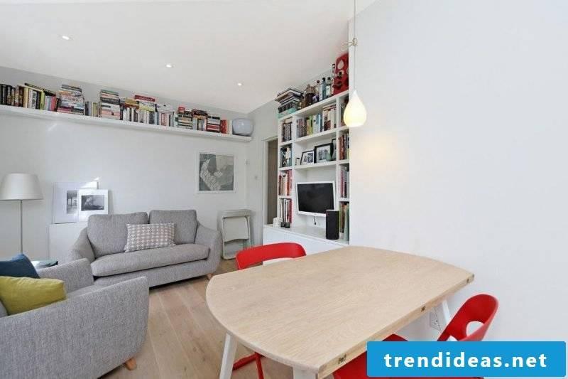 Living room design Scandinavian style ideas