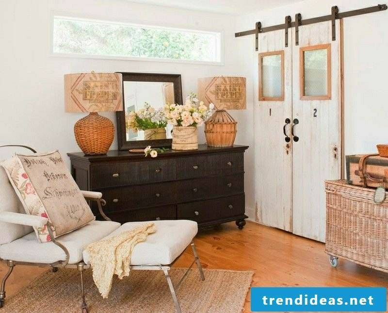 Living room style country style with vintage elements