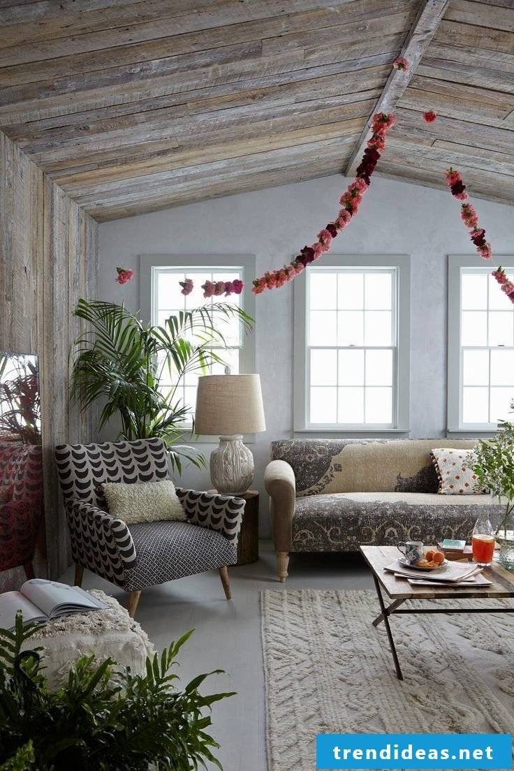 DIY decoration in the living room