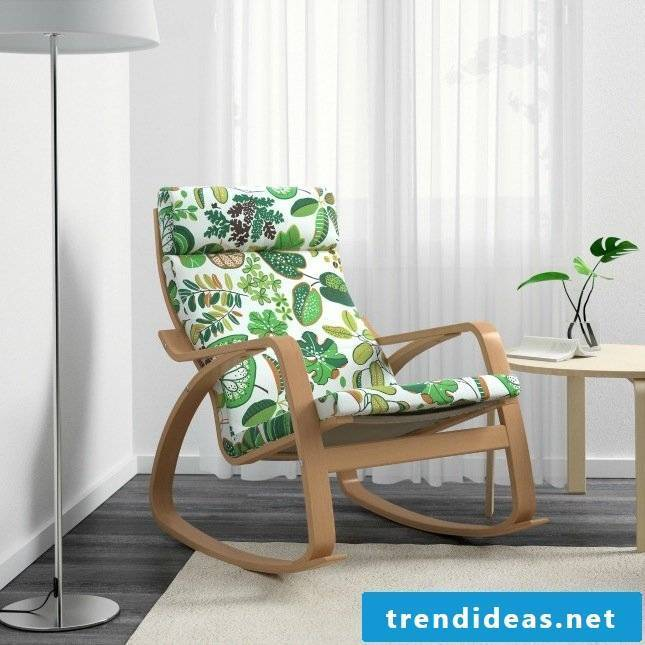 Ikea hacks for spring decoration in the living room: Ikea chair