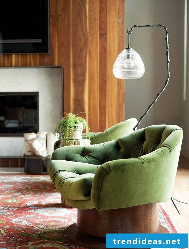 Ikea hacks for spring decoration in the living room: colorful furniture