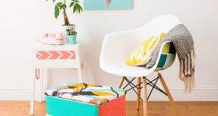 Living Room Refresh: 68 hacks to bring spring into the living room!