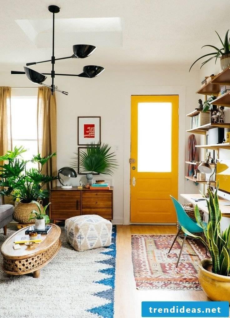 Living room spring decoration ideas
