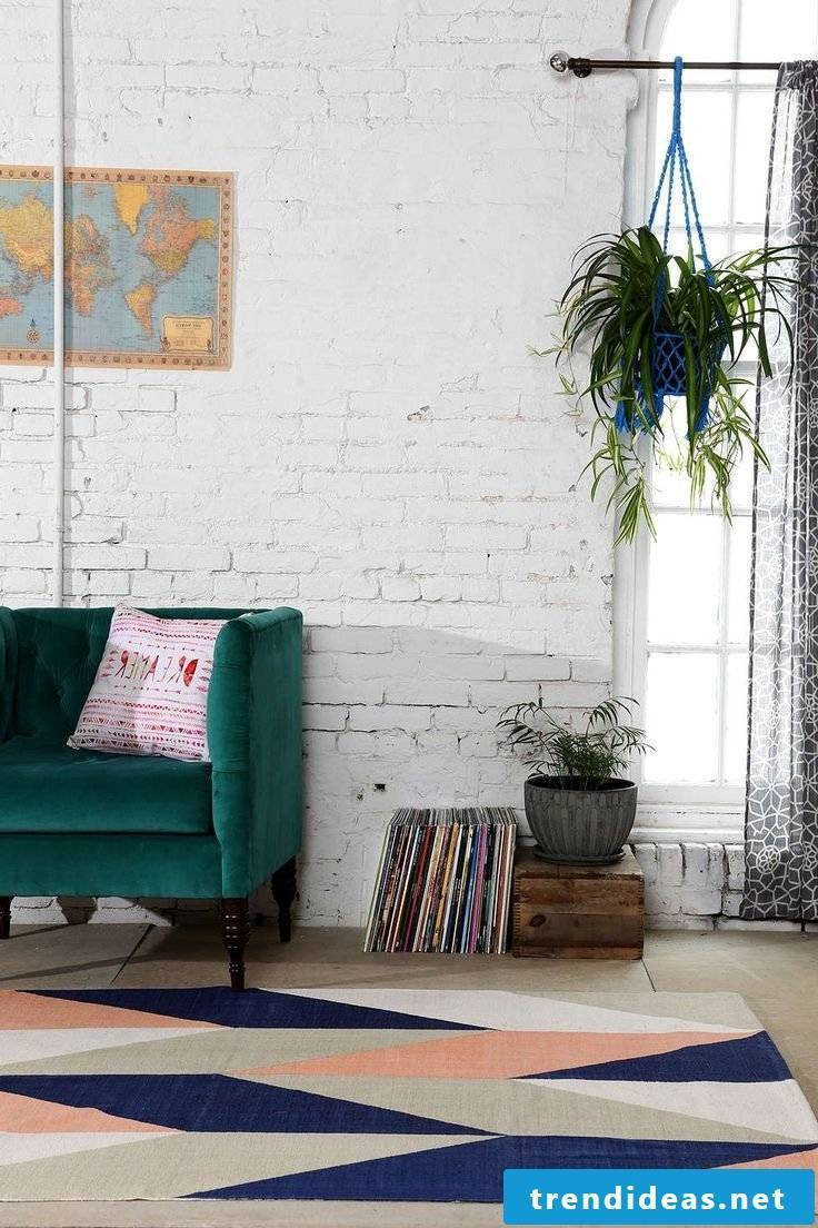 Living room ideas for spring decoration