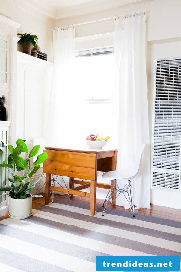 Living room project to bring spring into apartment
