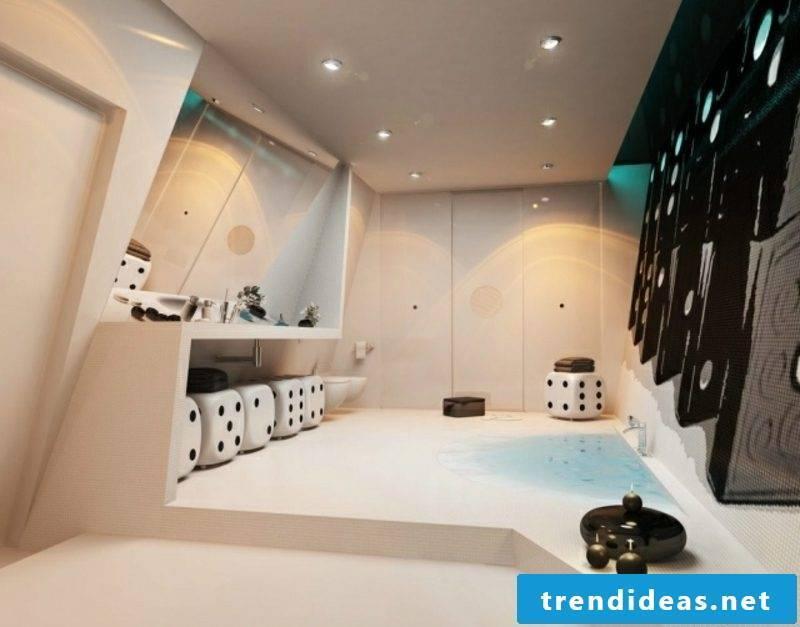 Luxury bathroom fancy design