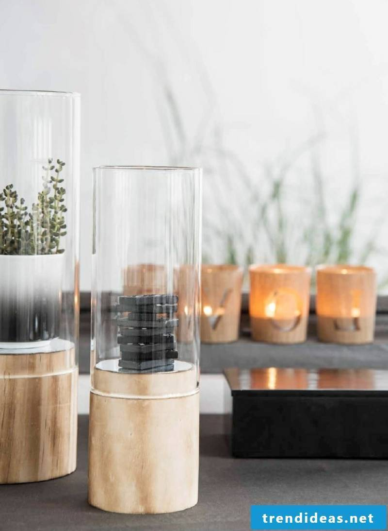 madam stoltz candlestick made of glass